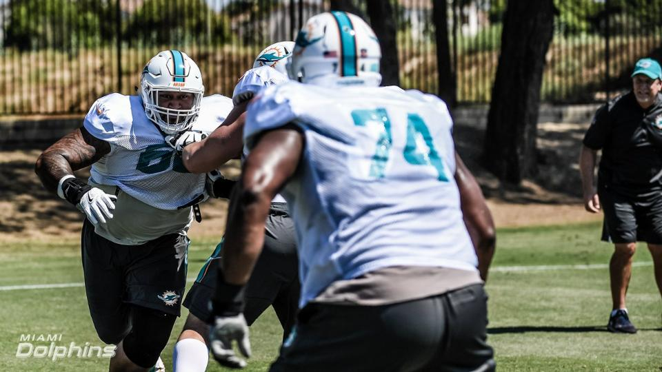 Practicing in Oxnard - Contributed by Miami Dolphins' PR