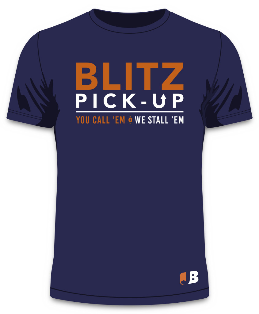 Navy Blitz Pick Up Front