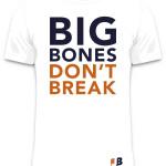 White Big Bones Tee (Front)